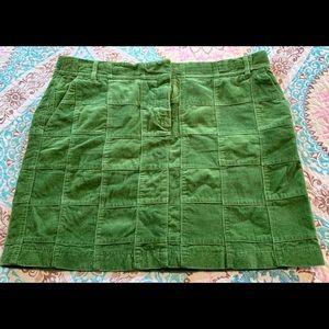 Ann Taylor Loft Corduroy Mini Skirt